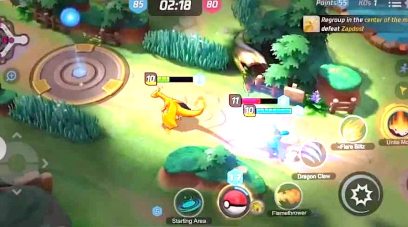 """Pokémon Unite"" mezcla Pokémon con ""League of Legends"""